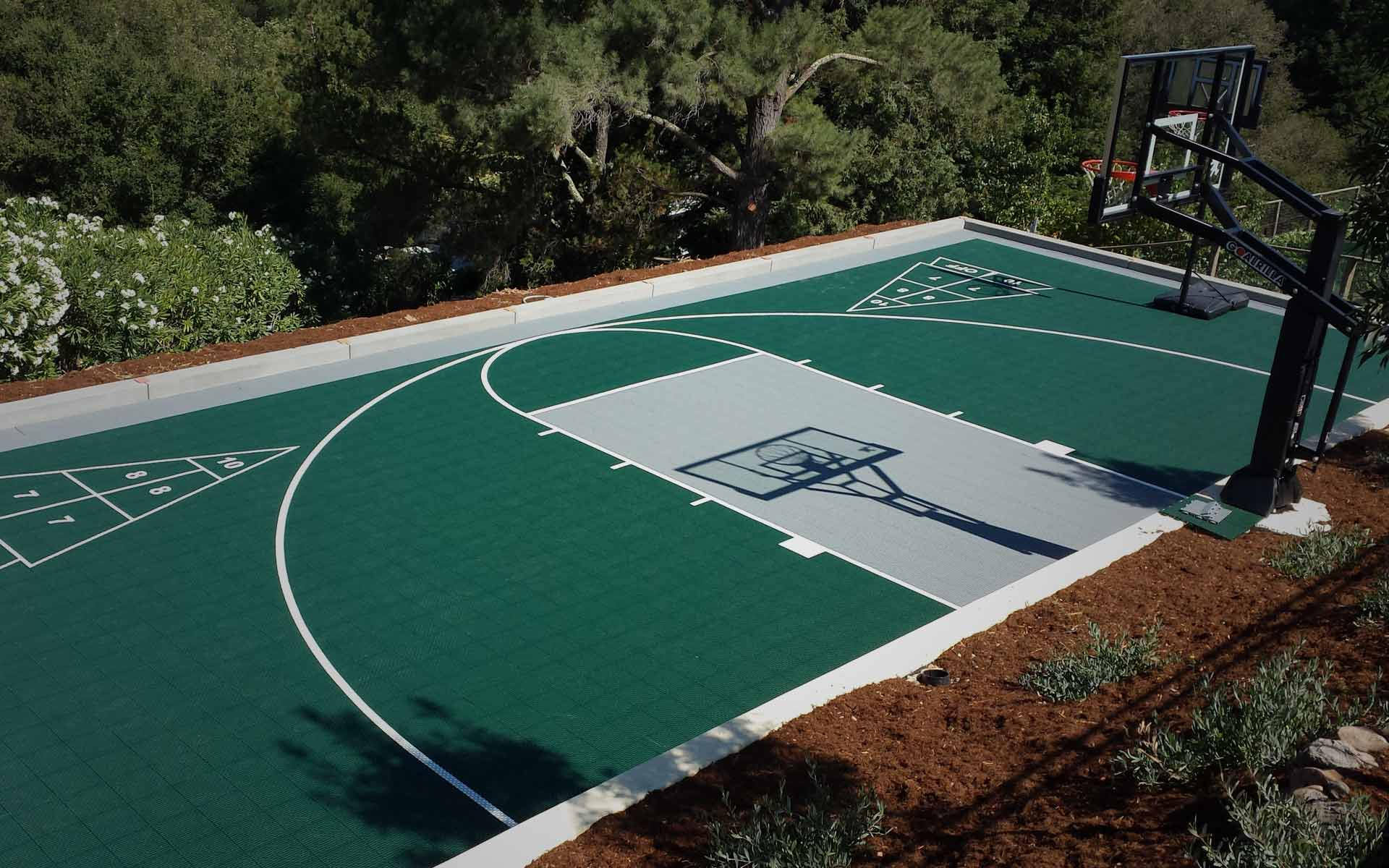 Athletic Court Installation